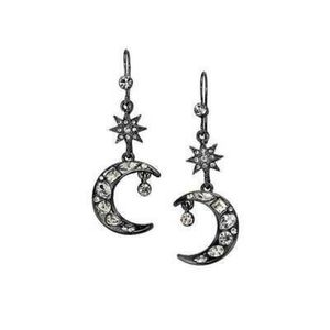 AVON Celestial Sprits Moon & Stars Drop Earrings